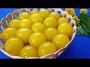 Món Ăn Ngon - THẠCH BÍ ĐỎ, Thạch Rau Câu Lòng Đỏ Trứng Gà