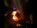 на Левенцовке сожгли 2 машины - 26.09.18 - Это Ростов-на-Дону!