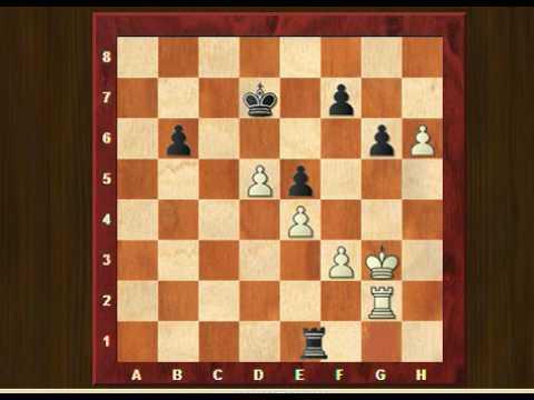 Chess understanding rook endgames (2). Creating a weakness