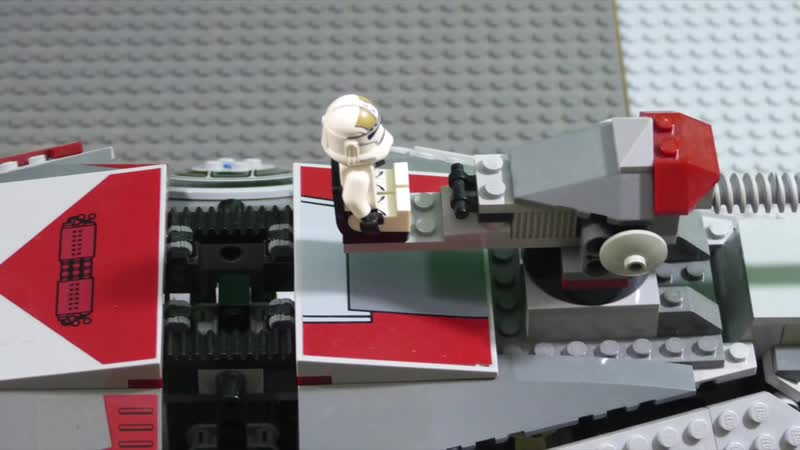 [cactus] The Battle of Mantessa (p2) - Lego starwars stop motion (brickfilm)