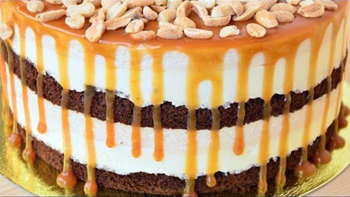 Муссовый торт Сникерс ☆ Mousse cake Snickers