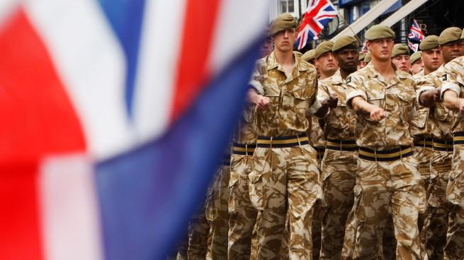 В Краматорск приехали 50 военных из Великобритании, они не
