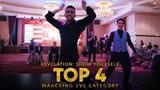 Danzel vs Bogie Waacking 1v1 Top4 Revelation Show Yourself 2018 Klang, Malaysia