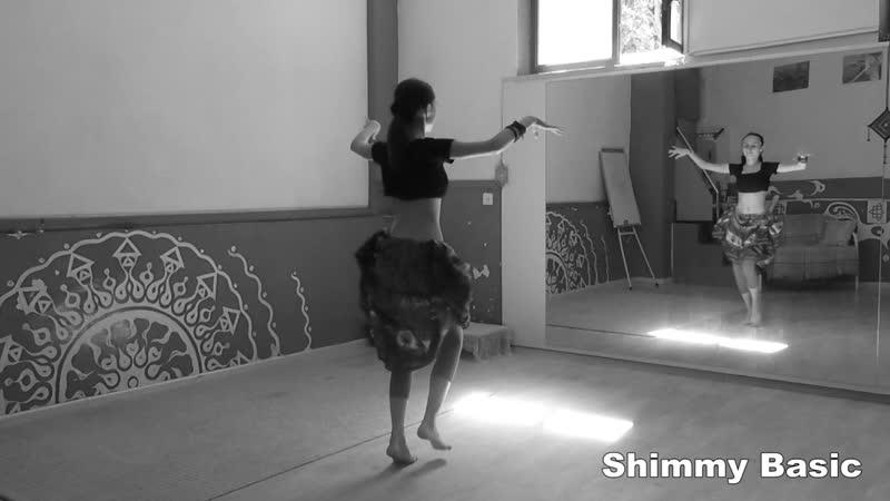 Fast Moves: Folklor Shimmy Step \ АТС-словарь @ dance vocabulary