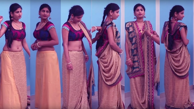 Saree draping wedding moment | Tips Ideas to Drape Saree Pallu | Wedding to Look Slim Tall