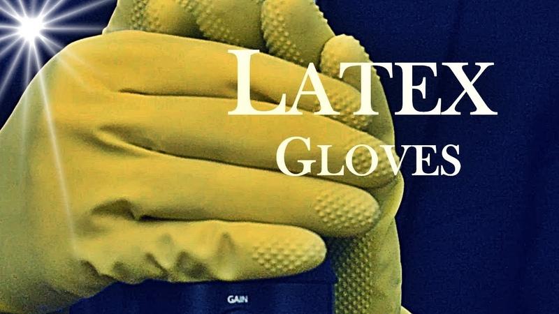 ASMR Mic Rubbing No Talking (Tingles Guaranteed with Latex Gloves)