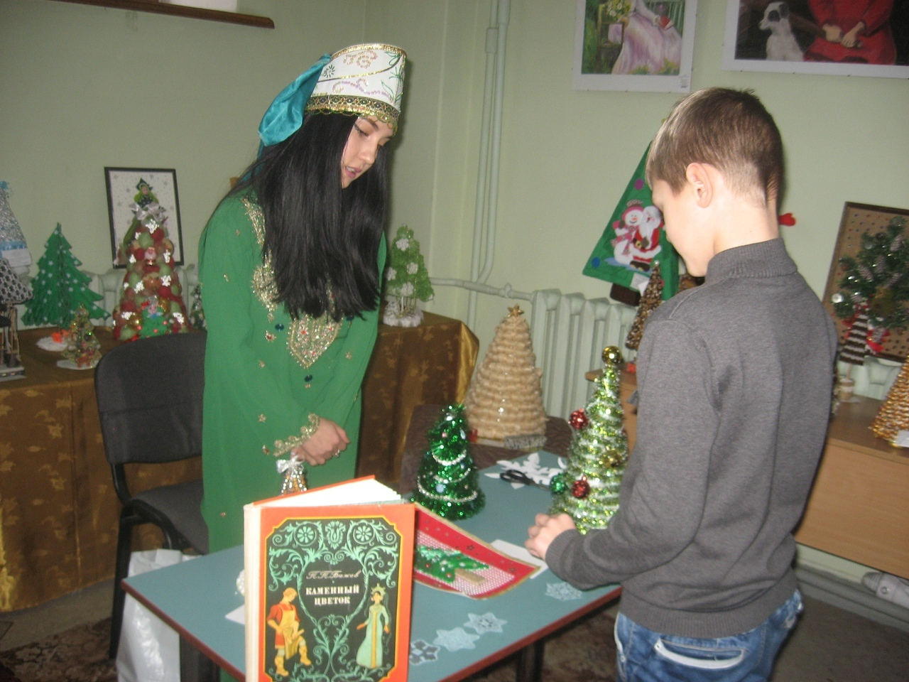 ярмарка волшебства, донецкая республиканская библиотека для детей, сектор организации досуга для детей, работы ребят
