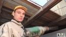 Занижаю деревянный пол в санузле. Лазерный уровень за 2800 руб.