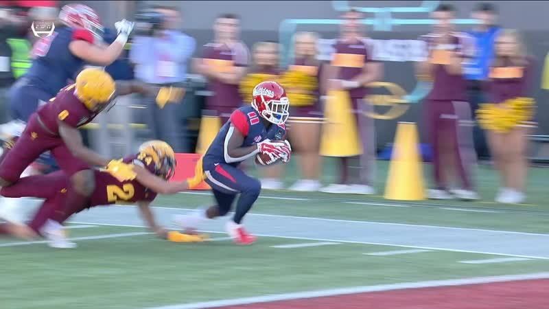 NCAAF 2018 / Las Vegas Bowl / Arizona State Sun Devils - (21) Fresno State Bulldogs / 2H / EN