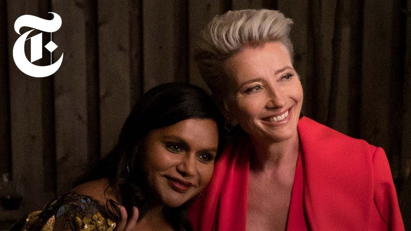 Watch Emma Thompson and Mindy Kaling Go Head to Head in 'Late Night'   Anatomy of a Scene