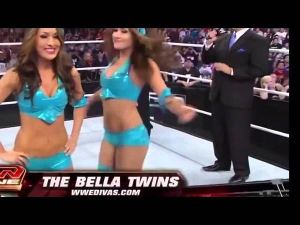 Bella Twins Ass Shake