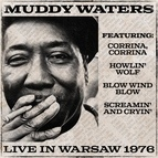 Muddy Waters альбом Muddy Waters Live in Warsaw 1976