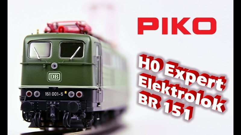 PIKO [V063EN subtitle] H0 Expert electric locomotive BR 151 DB - model presentation