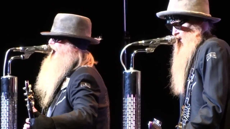 ZZ TOP Beer Drinkers Hell Raisers Live Montreal 2012 HD 1080P