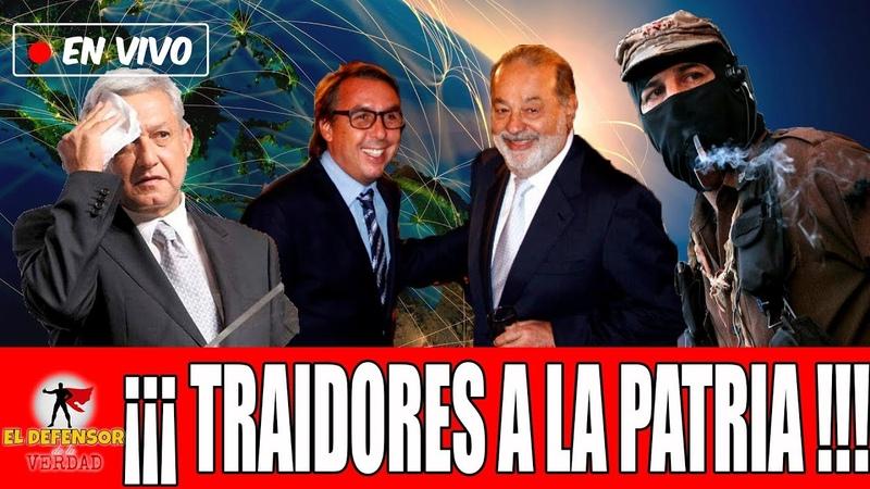 Empresarios e Intelectuales Extranjeros Conspiran Contra AMLO Para Apoyar al EZNL