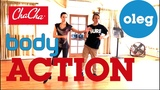 !!! NEW !!! - Cha Cha Cha - Hip Actions - Body Actions in Ballroom Dancing by Oleg