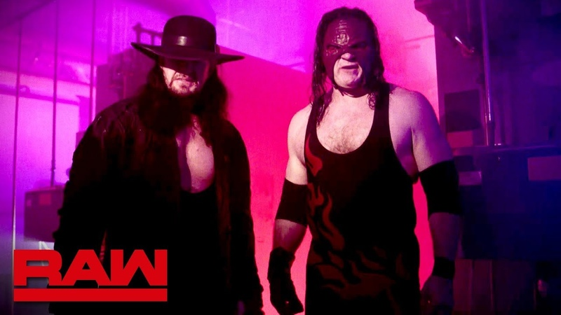 The Brothers of Destruction respond to D-Generation X Raw, Oct. 15, 2018