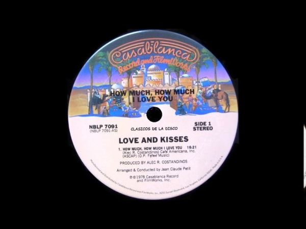 Love and Kisses How Much, How Much I Love You ( Album Version )