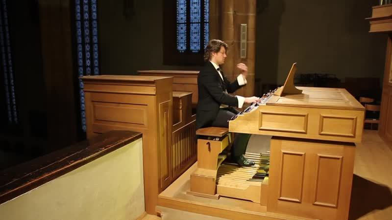 564 J. S. Bach - Toccata, Adagio and Fuga in C major, BWV-564 - Gunther Rost, organ
