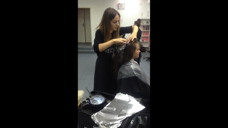 Курс Парикмахер-универсал. Модуль Окрашивание волос