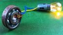 Electric 2019 Free Energy Generator 100% Self Running With DC Motor Using Wheel