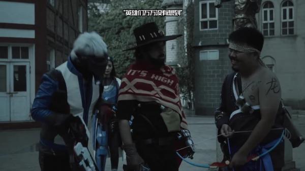 Безумная китайская короткометражка про героев Overwatch в реальной жизни