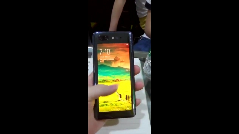 ZTE nubia z18s with 2 screens video leak