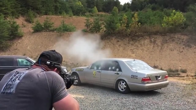 Mercedes W140 S-class Armor · coub, коуб