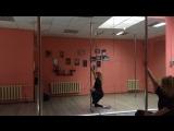 Exotic pole dance 🌸