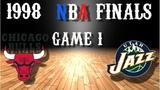 1998 NBA Finals Game 1 Chicago Bulls@Utah Jazz