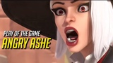 Play of the Game ANGRY ASHE - Overwatch Funny &amp Epic Moments 659