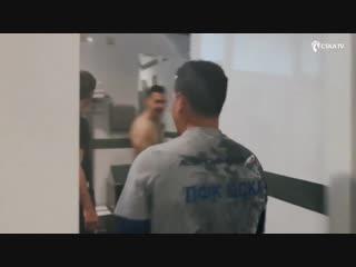 Кампоамор  2019: купание Паулино Гранеро