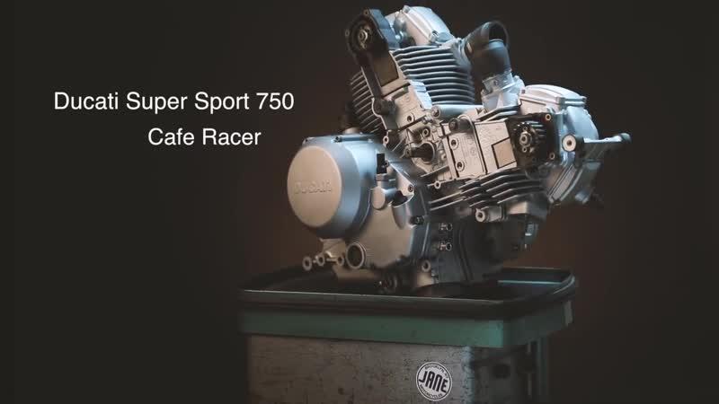 Ducati Super Sport 750 Cafe Racer смотреть онлайн без регистрации