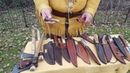 Mountain Man Bushcraft .. Ultimate Cutting Edge; My knife collection.