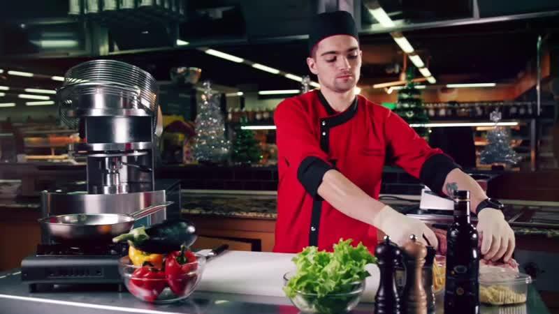 Фабрика вкуса готовит для Вас Рулет из свинины.mp4