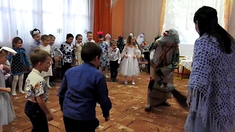 Рождественские колядки - д/с Лучик- подготовительная группа. Воспитатель -Л.Е.Жарова . С.Кантаурово.