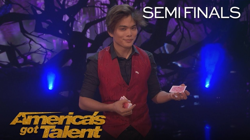 Shin Lim Magician Bends Reality With Incredible Smoke Card Tricks America's Got Talent 2018