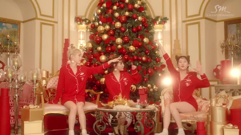 Girls Generation-TTS 소녀시대-태티서 Dear Santa MV