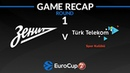 Highlights: Zenit St Petersburg - Turk Telekom Ankara