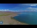 Самое высокогорное соленое озеро в мире!