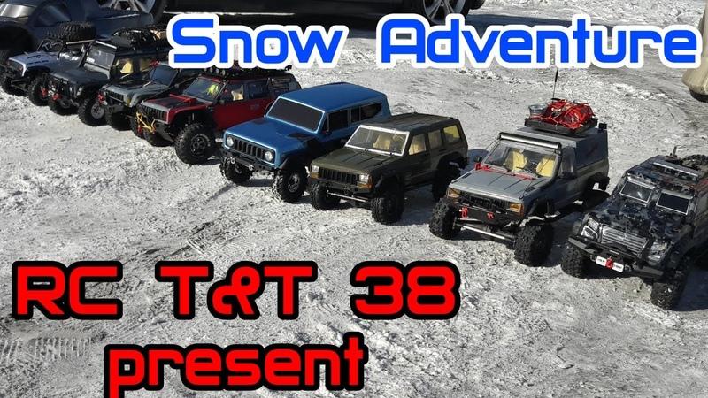 RC Cars Snow Adventure - TRX4, SCX10II, RedCat G8, Remohobby