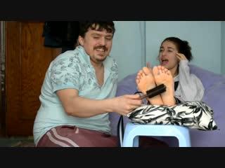 Sisters' Tickling