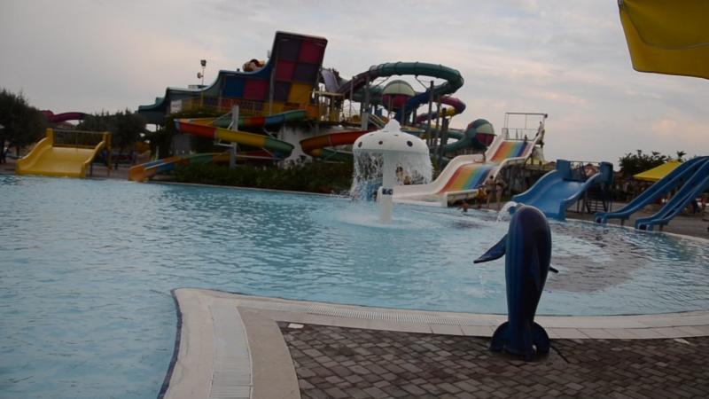 Аквапарк Банановая Республика Детский бассейн Обзор