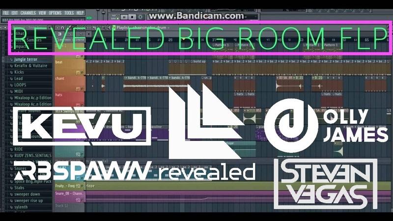 FULL BIG ROOM FLP REVEALED STYLE Olly James, KEVU, R3SPAWN FLP Download