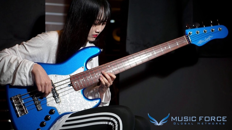 [MusicForce] Alleva Coppolo LG5 Custom Bass Demo by Bassist 김예인 Yein Kim