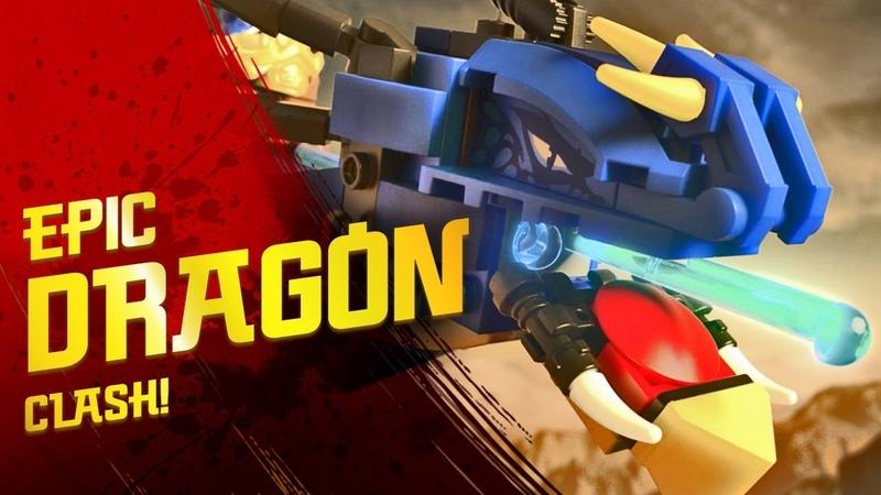 Lightning Dragon Unleashed - LEGO NINJAGO 70652 Stormbringer