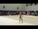 Художественная гимнастика дети Ефремова Ксения