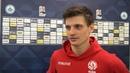 Станислав Драгун сразу после матча с Сан-Марино