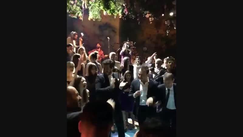 Çağatay Ulusoy on Hazal Kaya wedding night