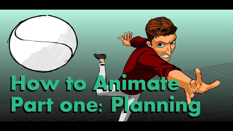 How To Animate part1 Planning your shot maya